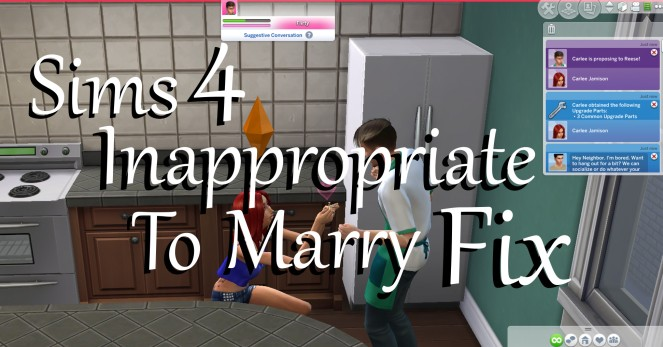 Inappropriate To Marry Fix Thumbnail