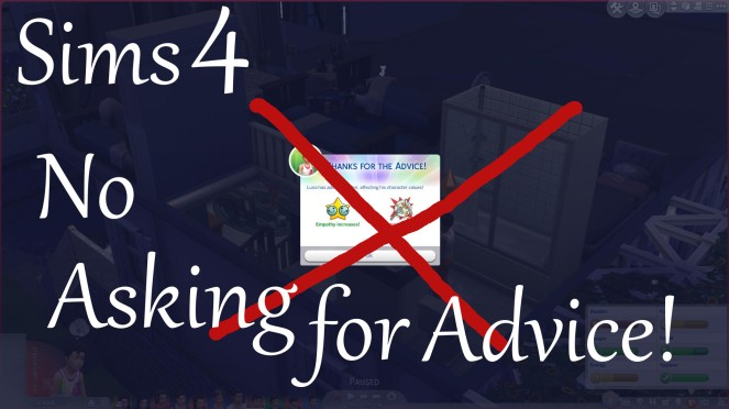 No asking for advice thumbnail