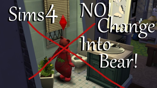 NO! Change Into Bear Thumbnail