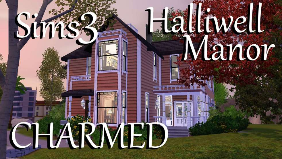 sims 3: halliwell manor download – polarbearsims blog & mods