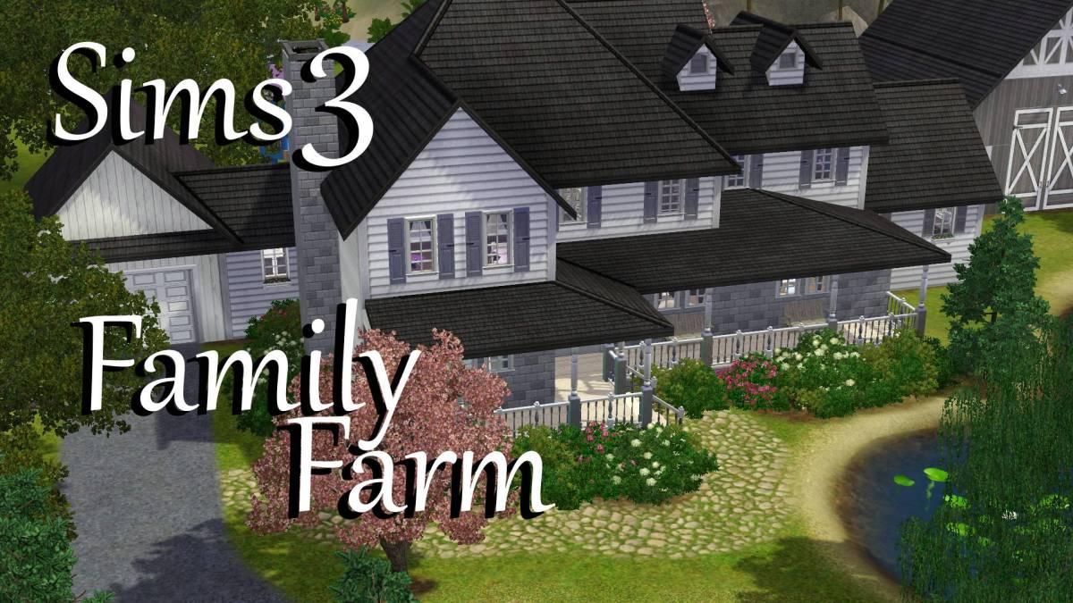 Sims 3 family farm download polarbearsims blog mods