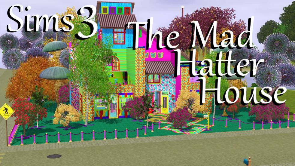 Sims 3: Mad Hatter House Download – Polarbearsims Blog & Mods